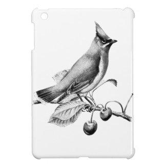 Coques Pour iPad Mini Gravure vintage/victorienne d'oiseau