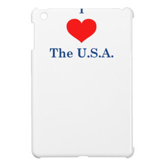 Coques Pour iPad Mini J'aime les Etats-Unis