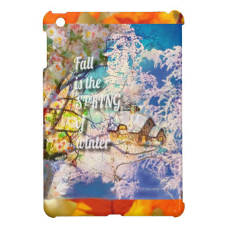 Coques Pour iPad Mini Le ressort des débuts d'hiver dans l'automne