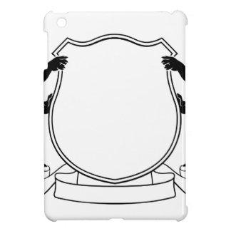 Coques Pour iPad Mini Manteau héraldique de chiens de bouclier de crête