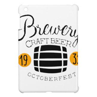 Coques Pour iPad Mini Modèle de conception de logo de brasserie avec le