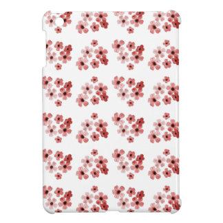 Coques Pour iPad Mini Motif de fleurs rouge