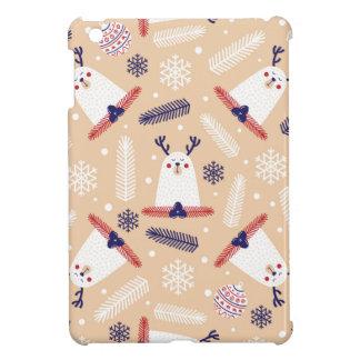Coques Pour iPad Mini Noël, vacances, décorations d'arbre, motif