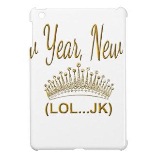 Coques Pour iPad Mini Nouvelle année, nouvelle je LOL JK