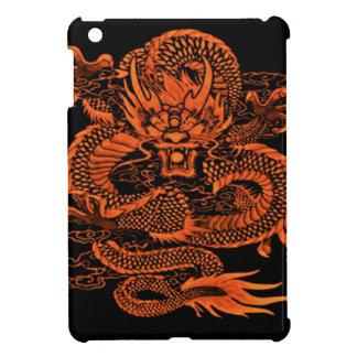 Coques Pour iPad Mini Orange épique de dragon