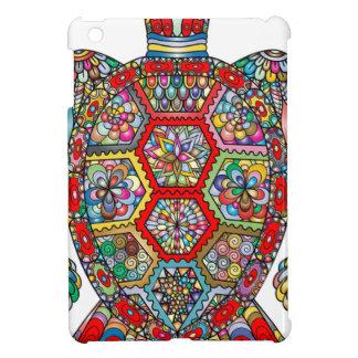 Coques Pour iPad Mini Ornamental décoratif de fleurs florales de tortue