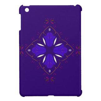 Coques Pour iPad Mini Ornemente le bleu peint