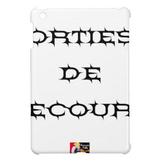 Coques Pour iPad Mini Orties de secours - Jeux de Mots - Francois Ville