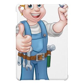 Coques Pour iPad Mini Outil de truelle de travailleur de la construction