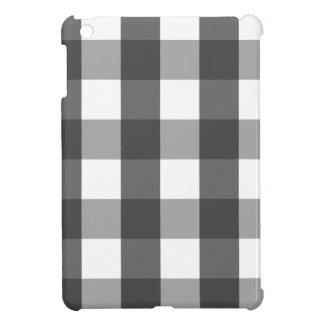 Coques Pour iPad Mini Plaid noir et blanc