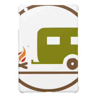 Coques Pour iPad Mini Remorque et feu de camp du camping rv