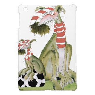 Coques Pour iPad Mini rouges du football, tel père, tel fils