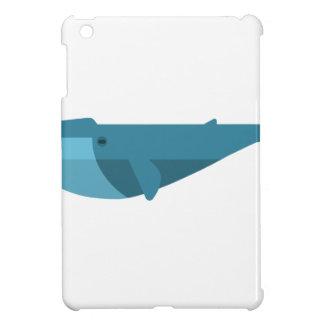 Coques Pour iPad Mini Style de primitif de baleine bleue
