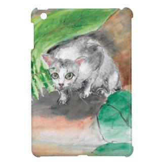 Coques Pour iPad Mini Twitt la planque secrète d'un chat