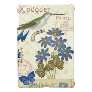 Coques Pour iPad Mini Un bouquet des fleurs, des oiseaux et des