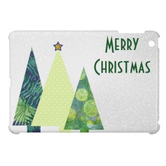 Coques Pour iPad Mini Vacances d'arbres de Noël de trois Crafter à la