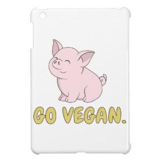 Coques Pour iPad Mini Vont le végétalien - porc mignon
