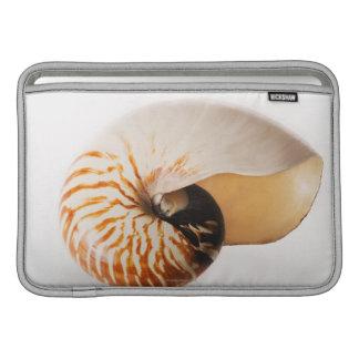 Coquillage de Nautilus (stenomphalus de Nautilus) Poches Macbook Air