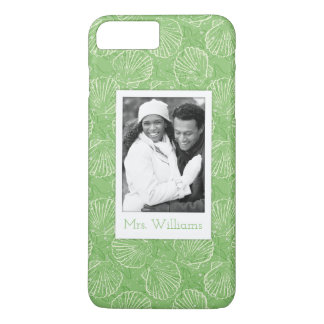 Coquillages faits sur commande d'ensemble de photo coque iPhone 7 plus
