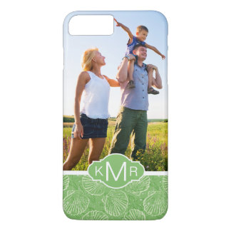 Coquillages faits sur commande d'ensemble de photo coque iPhone 8 plus/7 plus