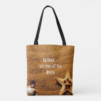 … Coquillages retirés à la conception de plage Tote Bag