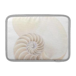 Coquille de Nautilus, plan rapproché Poche Macbook Air