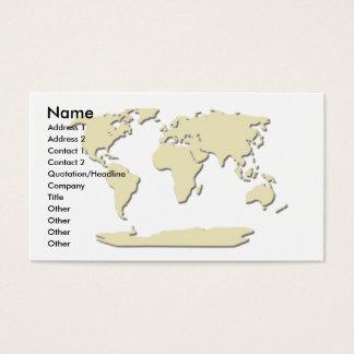 Coquille d'oeuf de carte de visite de carte du