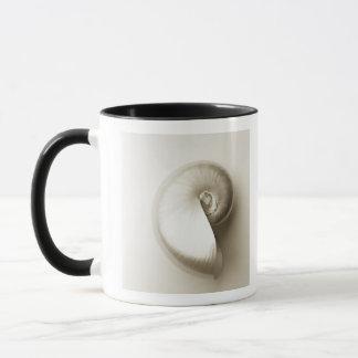 Coquille Pearlised 2 de mer de nautilus Mugs