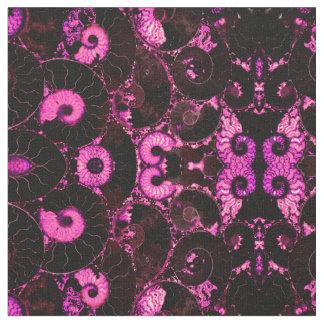 Coquille rose de Nautilus Tissu