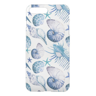 Coquilles d'aquarelle coque iPhone 8 plus/7 plus