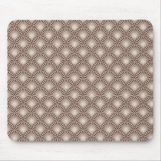 Coquilles de mer d'art déco tapis de souris