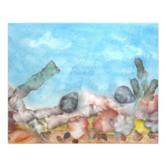 Coquilles sous la mer prospectus 11,4 cm x 14,2 cm