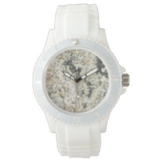 Corail antique d'aquarelle montre