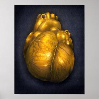 Corazón De Oro - affiche 8x10 de c?ur d'or Posters