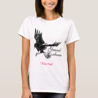 Corbeau grand t-shirt