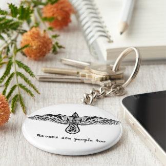 corbeaux porte-clé rond