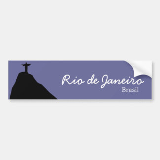 Corcovado - RJ - le Brésil Autocollant Pour Voiture