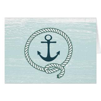Corde nautique d'ancre toute la carte d'occasion