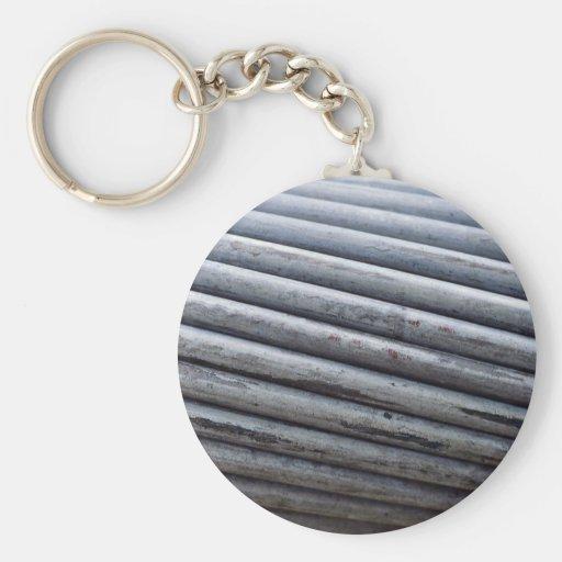 Corde unique en métal porte-clef