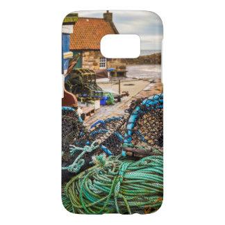 Cordes et pots de homard | Pittenweem, Ecosse Coque Samsung Galaxy S7