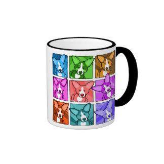 Corgi d art de bruit tasse à café