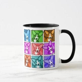 Corgi d'art de bruit mug