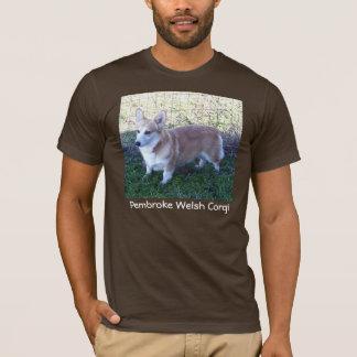 Corgi de Gallois de Pembroke - T-shirt foncé