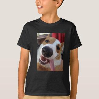 Corgi rouge et blanc de Gallois de Pembroke T-shirt