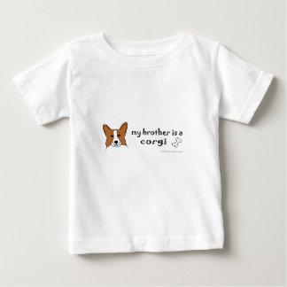 corgi t-shirt pour bébé