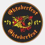 Corne d'abondance d'Oktoberfest Adhésifs