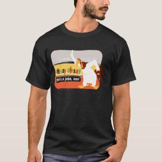 Corne de brume qui est une plaisanterie, fils t-shirt