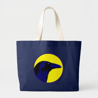 corneille bleue blue crow grand sac