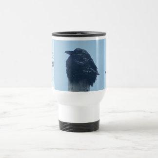 corneille, corneille, corneille mug de voyage