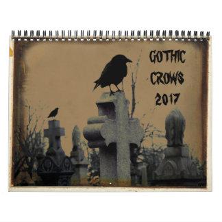 Corneilles gothiques 2017 calendriers muraux